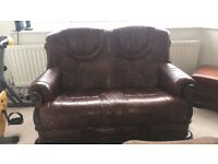 Sofa, armchairs and coffee table set