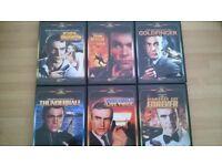 James Bond DVDs x6 (Connery)