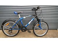 CHILDS ROCKY BIKE IN VERY GOOD USED CONDITION.. (SUIT APPROX. AGFE 6 / 7+)..