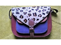 Funky Leather Animal Print Ladies Satchel Style Bags