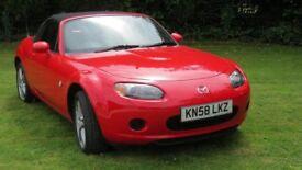2008(58) Mazda MX5 1.8 Excellent condition low mileage