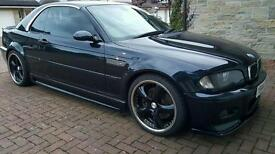 bmw m3 e46 convertible px or swap