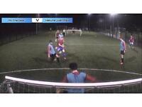 Wednesday evening 5 a side football