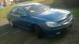 Peugeot 607 . Taxed and MOTed .