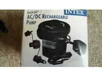 Intex rechargeable pump
