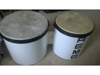 Small bongo drums ( used )