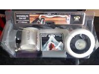 New Manrose Low Voltage Showerlite fan Kit Designed For Installation In Shower Cubicles.