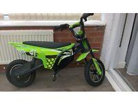 Zinc electric motorbike
