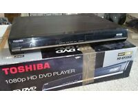 Toshiba HD-DVD player with over 30 hd films