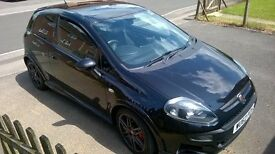 Abarth punto evo 1.4 turbo black 2012 only 24600 miles lovely conditon
