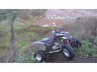 YAMAHA RAPTOR 660R BLACK AND RED OFF ROAD ADDITION 2005 model