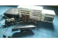 MEGA DEAL - Xbox 360 250GB 40 Games 3 Controllers and kinect