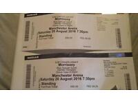 Morissey Standing Tickets 20th Aug Manchester