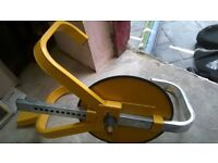 Wheel clamp never used
