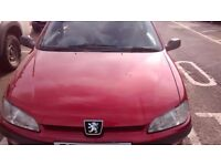 106 - only 37647 miles - 12months MOT - red . only £350.