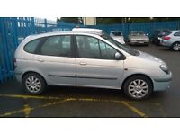 Low mileage, 2002 Renault Scenic 1.9dci, 8 months mot