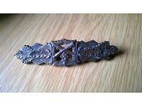 World War 2 German bronze close combat clasp