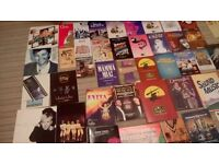 COLLECTION OF PROGRAMS/THEATRE/CONCERT/FOOTBALL:APPROX LOT OF 70/MOST FROM DECADES AGO.