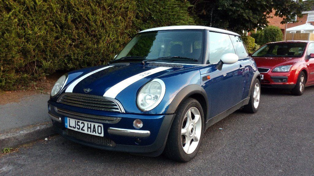 2002 bmw mini cooper 1 6 petrol 5 speed manual metallic. Black Bedroom Furniture Sets. Home Design Ideas