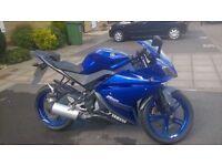 yamaha yzfr 125 2013 £1500 no offers