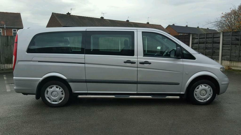 2004 Mercedes Vito 109 CDI extra long wheel 9 seater  in Denton