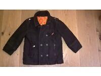 Boys coat brown colour size 3-4 y.