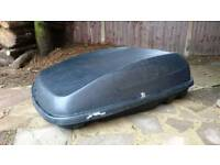 Halfords roof box 250l lockable