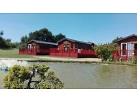 Great lodge for sale at Yaxham Waters Norfolk 4/6 berth lakeside views fishing on park 11 mth season