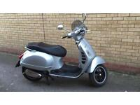 Vespa gt 300 registered as 125 2007