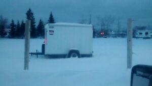 Enclosed 10x6 trailer