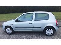 RENAULT CLIO DYNAMIQUE 16V 1.1L (2004) mot cheap car