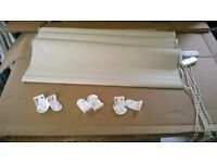 cream roller blinds
