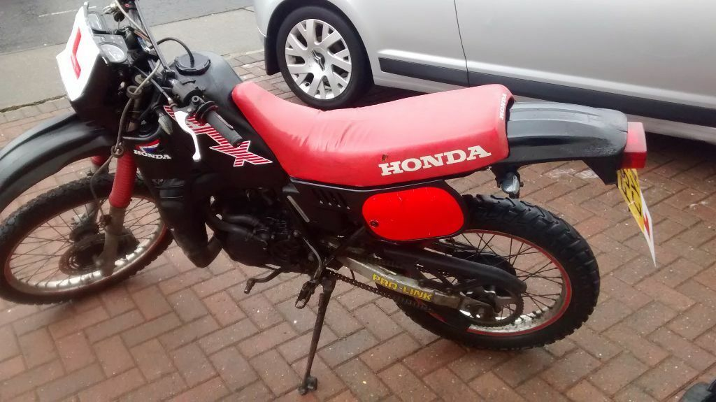 honda mtx 125 motorbike in newcastle tyne and wear. Black Bedroom Furniture Sets. Home Design Ideas