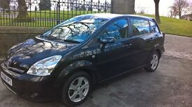 Metallic black Toyota Corolla Verso 2.2 D4D T3
