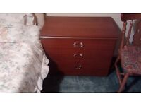 bedside cabinets in good condition