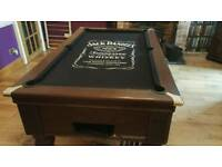 Slate 6ft Jack Daniels pool table with everything!!!
