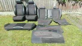 Escort gti seats