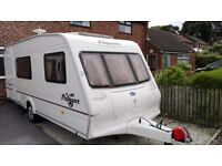 Bailey pageant 4 birth berth touring caravan