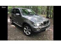 55 REG BMW X5 3.0 SPORT 5 DR AUTO FULL HISTORY SAT NAV PANORAMIC GLASS SUNROOF 2 KEYS