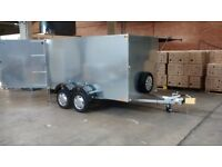 RENT or BUY Custom galvanised trailer ideal for car boots/motorbike/go kart/trade shows