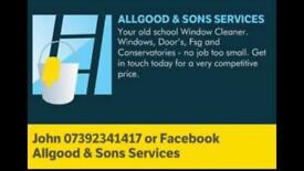 Windows cleaning gutter cleaning conservatory cleaning