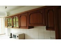 **Solid Wood Kitchen Units - FOR SALE**