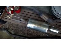 Renault Clio MKII BORE Exhaust Tail pipe + Pipe + Cat Fitting £60