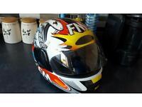 Fm motorbike helmet small 54 - 64 very good condition see photos