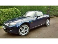 MAZDA MX5 1.8 convertible Manual 5 Speed
