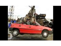 Scrap cars wanted 07794523511 spares or repair none runners damage any mot failed