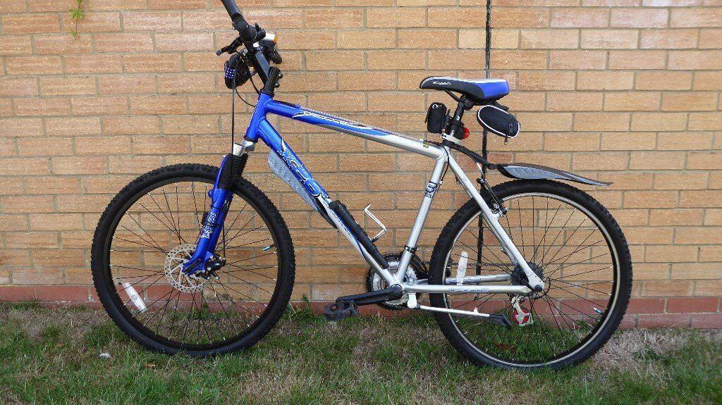 Men S Apollo Xc 26 Mountain Bike Front Fork Suspension Disc