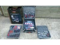 Tool kit Brand New, portable suit case trolly with handle, sockets, ratchets, spanners, can deliver.