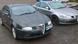 2006 ALFA ROMEO GT. 1.9 JTDM. 150 16v. MOT SEPTEMBER 2018