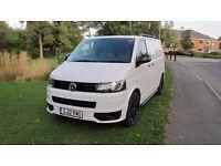 VW Transporter T5 GP 5.1 ideal kombi / camper conversion 2012/12 29000 miles only FSH £14500 NO VAT